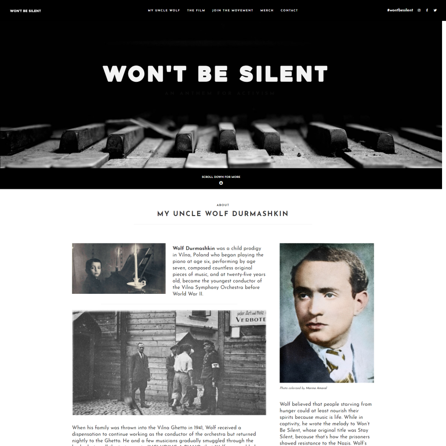 wont be silent featured